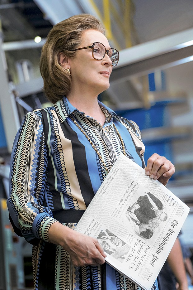 The Post - Meryl Streep vive a primeira mulher a dirigir o Washington Post, em plena crise da Guerra do Vietnã. Em cartaz (Foto: Divulgação)