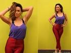 Sobre o corpão, Suzana Pires revela segredo: dieta sem glúten