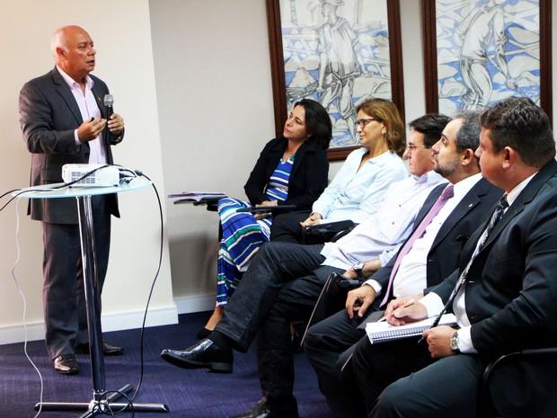 Plano de trabalho para a elaboração doDiretor do Sistema Penitenciário foi apresentado nesta quarta (Foto: Ivanízio Ramos/Assecom Governo do RN)