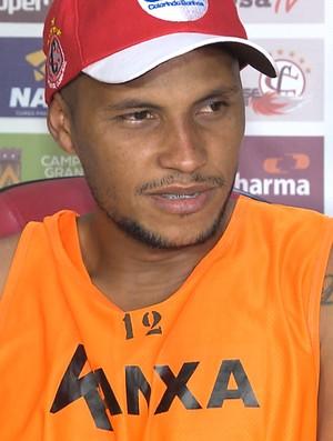 Jussimar, meia do Campinense (Foto: Reprodução / TV Paraíba)