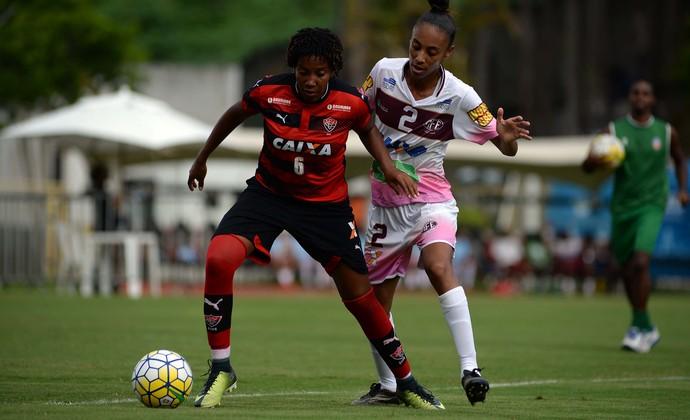 Vitória futebol feminino (Foto: Ângelo Pontes/ALLSPORTS)