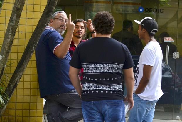 Douglas Sampaio (Foto: Roberto Teixeira / EGO)