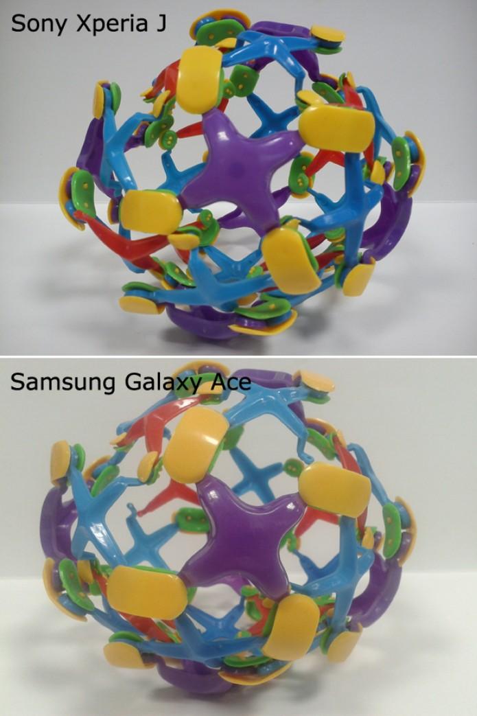 Xperia J produz fotos com cores mais vivas do que Galaxy Ace (Foto: Elson de Souza/TechTudo)