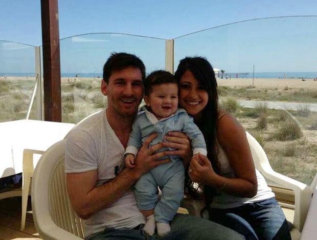 messi filho barcelona (Foto: Reprodução)