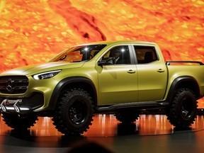 Mercedes-Benz mostra conceito de picape média 'premium'