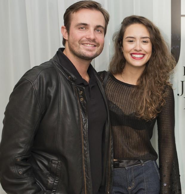 Max Fercondini e Jackie Britto (Foto: Mi Garcia)