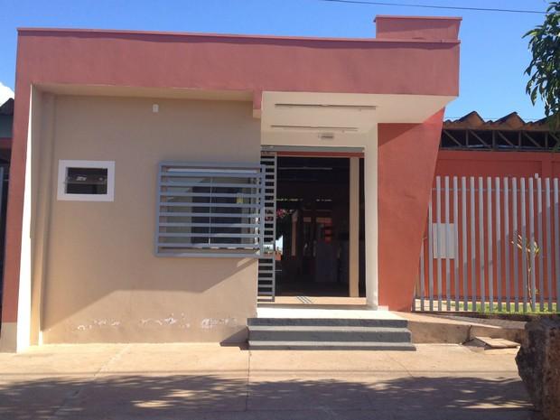 Escola estadual Carlos Gomes, em Cacoal (Foto: Rogério Aderbal/G1)