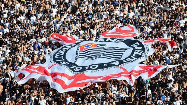 Torcida Corinthians atlético-mg (Foto: Marcos Ribolli / Globoesporte.com)