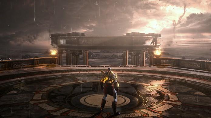 God of War 3 Remastered traz belos gráficos, mas com pouca diferença para o original (Foto: Reprodução/GearNuke)