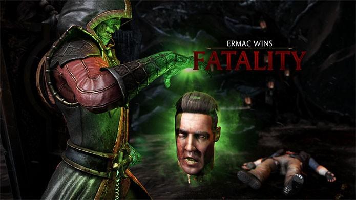 Mortal Kombat X permite desbloquear violentos Fatalities (Foto: Divulgação)
