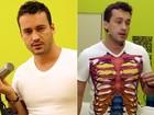 Frenético! Após ensaio, Rodrigo Andrade revela: 'Perdi 3kg em uma semana'