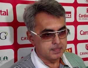 Sérgio Papellin, Superintendente de Futebol do América-RN (Foto: Jocaff Souza/Globoesporte)