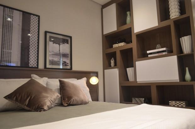 Siga a sua personalidade para montar o nicho que melhor representa o seu quarto (Foto: Camila Klein)