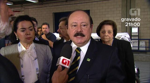 Levy Fidelix fala sobre expectativa para o debate da TV Globo