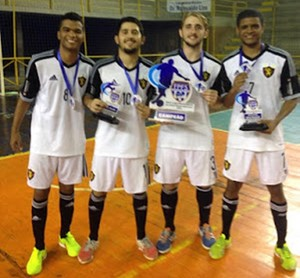 Premiação  confira os jogadores que se destacaram na Copa PE de Futsal bc3e156232c11