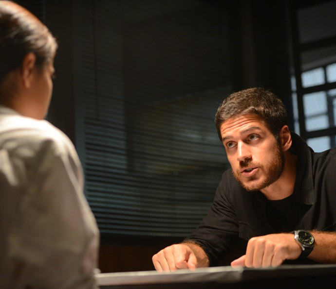 Dante promete que vai encontrar Atena (Foto: Pedro Carrilho/ Gshow)