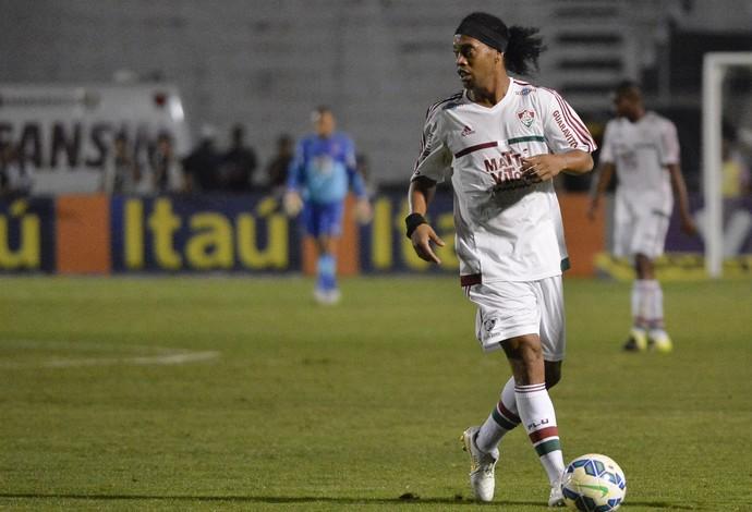 Ronaldinho Gaúcho - Ponte Preta x Fluminense (Foto: Levi Bianco/Brazil Photo Press/Estadão Conteúdo)