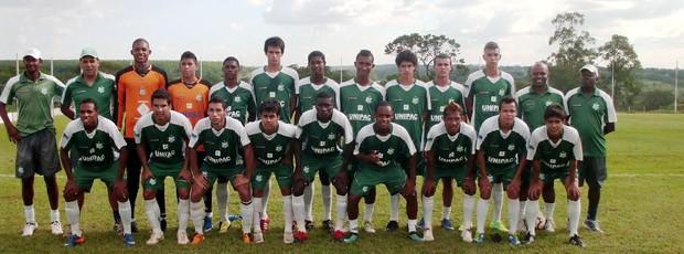 Juniores do Uberlândia - Campeoneto Mineiro 2012 (Foto: Divulgação)