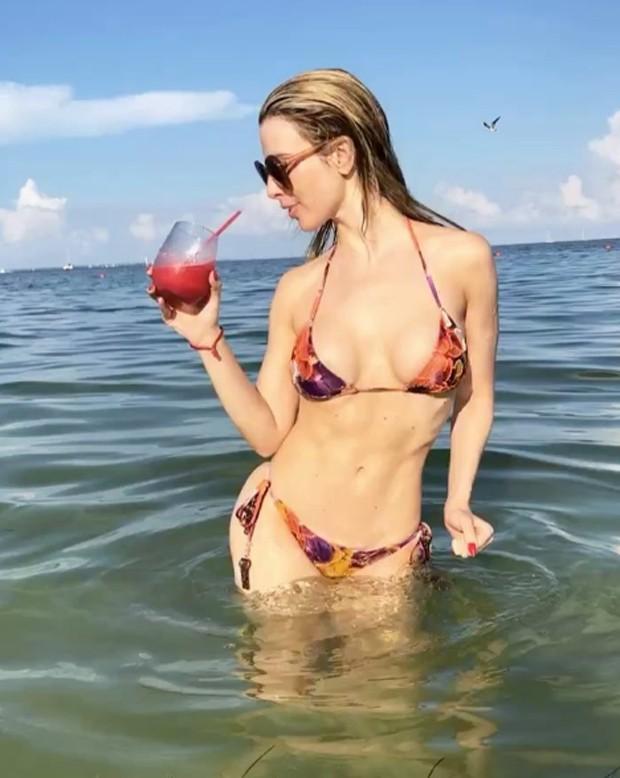 Fernanda Keulla em Cancún (Foto: Reprodução/Instagram)