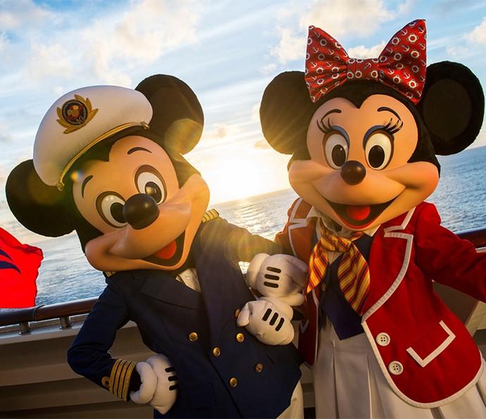 Magia dos personagens Disney viaja a bordo dos quatro cruzeiros da Disney Cruise Line (Foto: Disney Cruise Line)