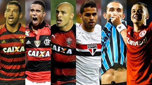 Pela Globo, você segue Sport x Flamengo, Vitória x São Paulo e Grêmio x Internacional, pelo Brasileirão (Foto: globoesporte.com)