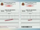 Golpe do IPVA confunde moradores de São Carlos e cartas vão para o lixo