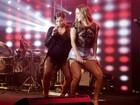 Ensaio da Mocidade tem Claudia Leitte de barriga de fora e Anitta decotada