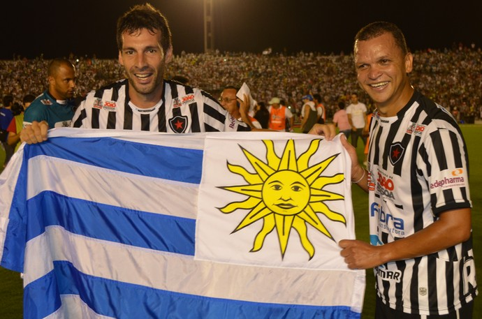 Mario Larramendi, Botafogo-PB, Juventude, Série D, João Pessoa, Paraíba (Foto: Larissa Keren / Globoesporte.com/pb)