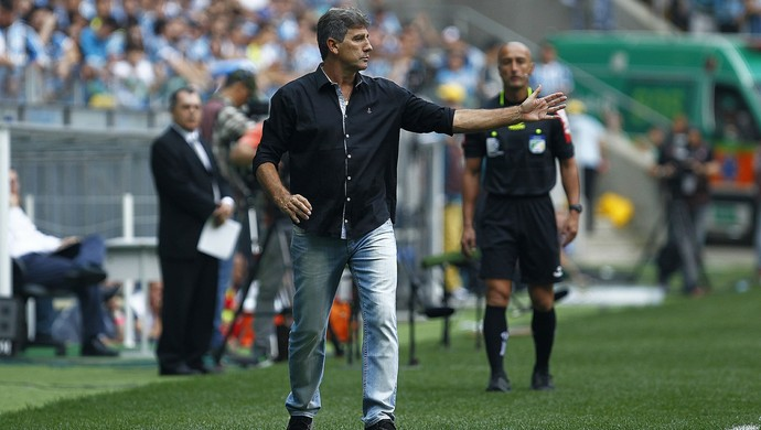 Gre-Nal 411 Grêmio x Internacional Inter Arena Renato Gaúcho Grêmio Gre-Nal Bolaños (Foto: Lucas Uebel/Divulgação Grêmio)
