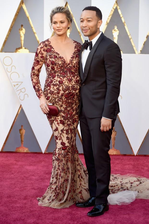 Chrissy Teigen e John Legend (Foto: Getty Images)