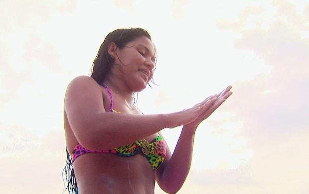 O protetor solar ajuda a prevenir o câncer de pele (Foto: Bom Dia Amazônia)