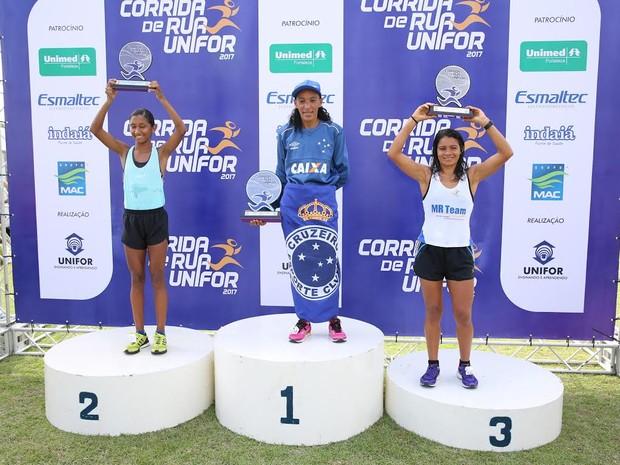Atleta Miriam Farias da Silva vendeu a disputa entre as mulheres (Foto: Ares Soares/Divulgação)