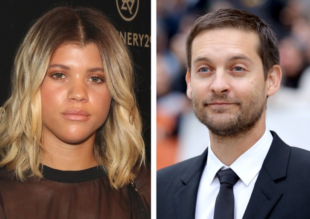 Sofia Richie e Tobey Maguire (Foto: Getty Images)
