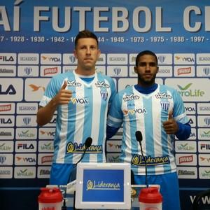 Romarinho Fábio Sanches Avaí (Foto: Jorge Daux/Avaí F.C.)