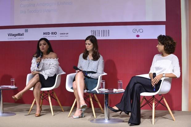 Carla Simone Castro, Carolina Ambrogini e Ilka Teodoro (Foto: Fabio Cordeiro)