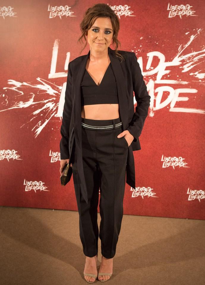 Joana Solnado comemora papel em 'Liberdade' e diz que já está familiarizada com o Português do Brasil (Foto: Fabiano Battaglin/Gshow)