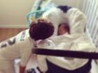 Fernanda Gentil posta foto do filho, Gabriel, com o afilhado, Lucas