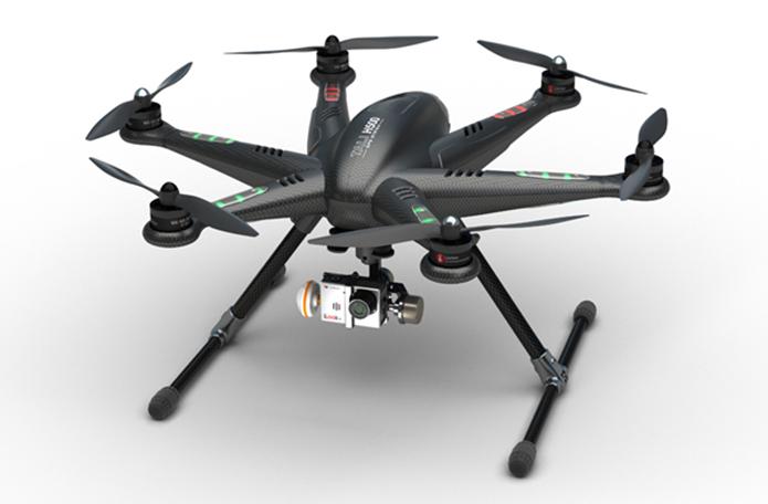 Modelo da Walkera tem proposta competitiva entre os drones profissionais no Brasil (Foto: Divulgação/Walkera)