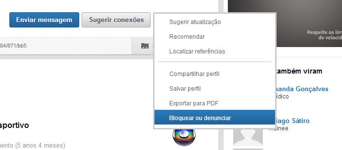 LinkedIn ganhou novo recurso (Foto: Reprodução/Thiago Barros)