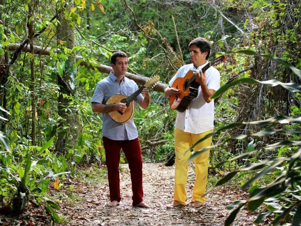Músicos Fabrício Rio e Amadeu Alves são os idealizadores do festival (Foto: Divulgação)