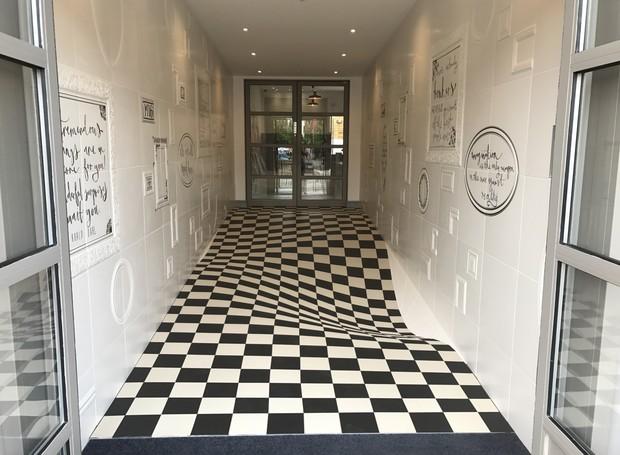 ilusão de ótica (Foto: Reprodução)