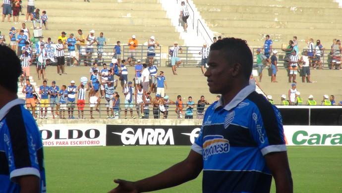 Luis Soares CSA (Foto: Viviane Leão/GloboEsporte.com)