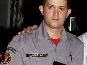 Sidnei Mafra era bombeiro voluntário em Indaial (Foto: Reprodução/Facebook)