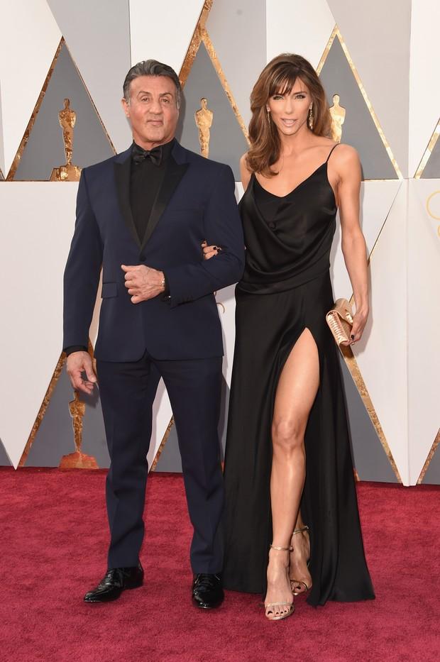 Sylvester Stallone e Jennifer Flavin (Foto: Getty Images)