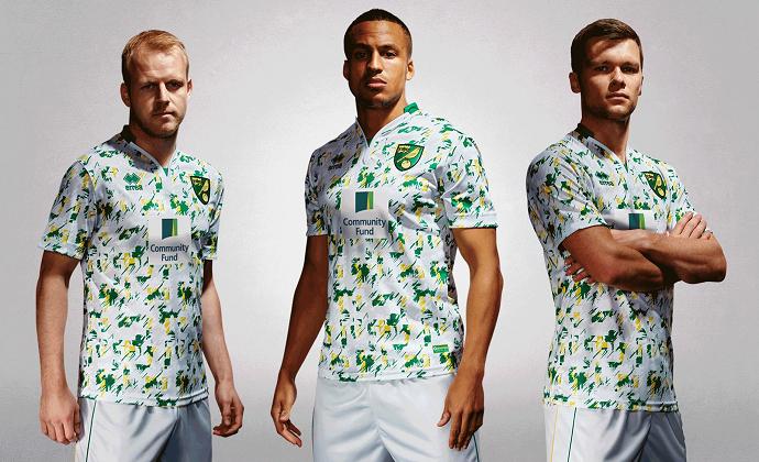 BLOG: Inspirado na década de 1990, Norwich lança camisa com estampa extravagante