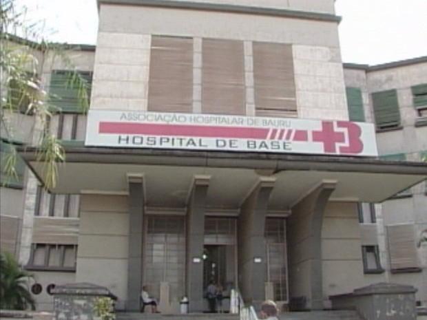 Secretário de Saúde disse que 50% do Hospital de Base está ocioso (Foto: Reprodução/TV TEM)