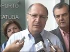 Alckmin afirma que duplicação da Euclides da Cunha está adiantada