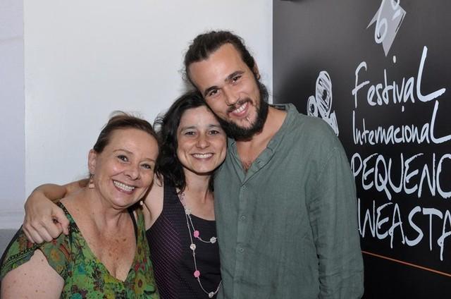 Bruno Ferrari, Débora Duarte e Daniela Gracindo (Foto: Marta Azevedo)