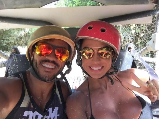 Belo e Gracyanne Barbosa (Foto: Arquivo Pessoal)
