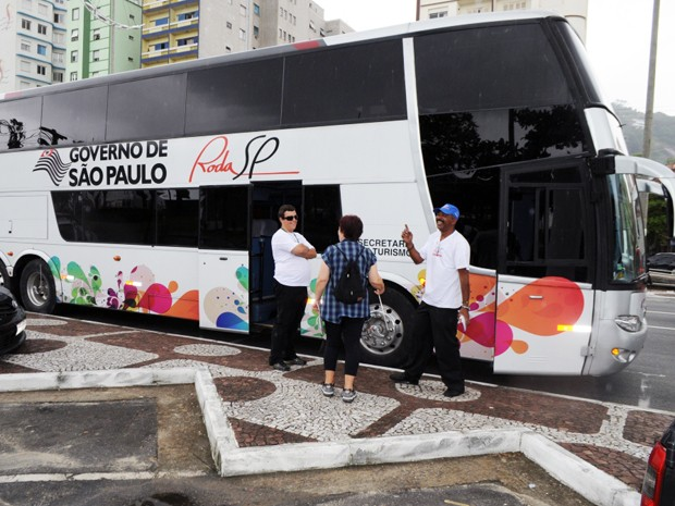 Ônibus do Programa Roda São Paulo estará em Guarujá, SP (Foto: Marcos França/Divulgação Prefeitura de Guarujá)